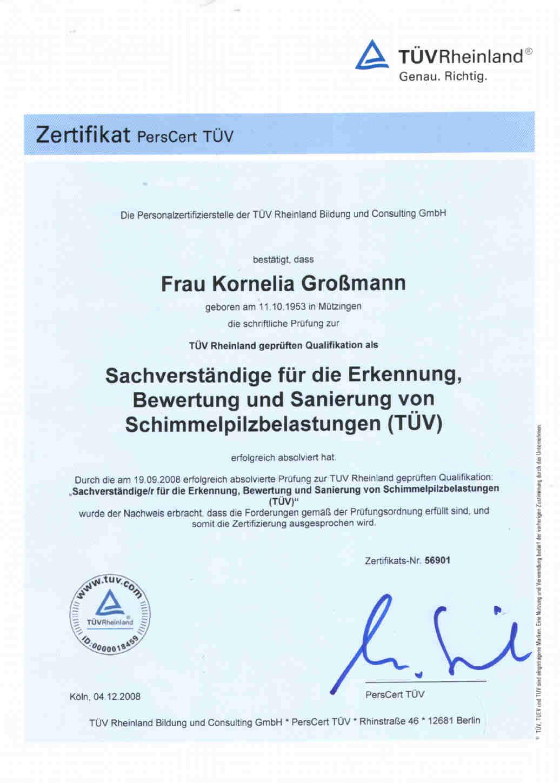Baubiologe Berlin kornelia großmann baubiologin schimmelsachverständige tüv zert